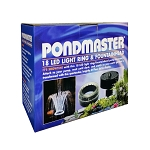 PONDMASTER -18 LED Light Ring and Fountain Head