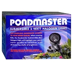 PONDMASTER - Submersible 5-watt  Halogen Clip-On Light