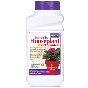 SYSTEMIC HOUSEPLANT INSECT CONTROL 8oz