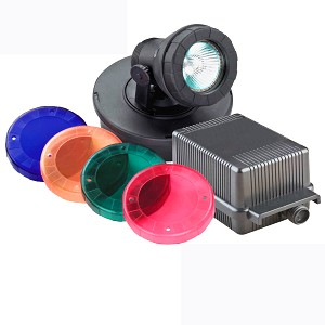 PONDMASTER - Submersible HALOGEN Pond Light Kit