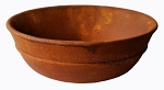 Michael Carr - Liconfiber Rusted Iron Finish Water Bowl
