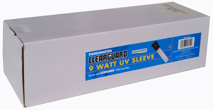 CLEARGUARD 9-WATT UV QUARTZ SLEEVE (NEW)
