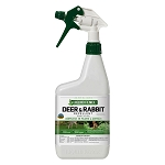 LIQUID FENCE - Deer & Rabbit Repellent Spray 32oz
