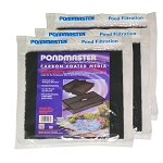 PONDMASTER - FILTER PAD-CARBON for 1250PMK - PMK4400 - 3-PACK