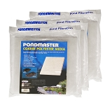 PONDMASTER - FILTER PAD COARSE-POLY for 1250PMK - PMK4400 - 3-PACK