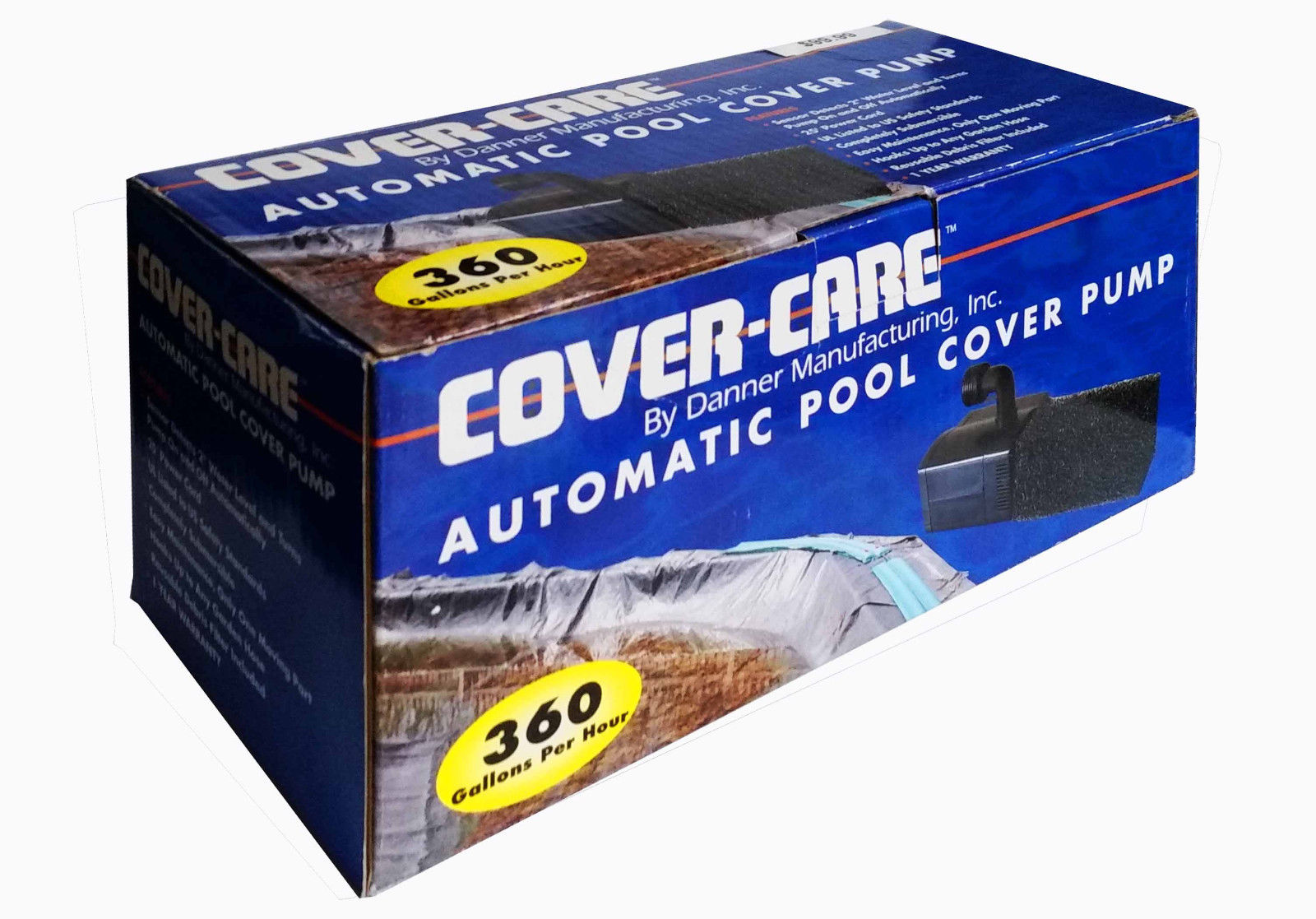 Danner Mfg. Cover-Care 360 Automatic Pool-Cover pump