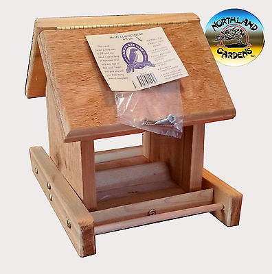 Bird's Eye View Small Classic Cedar Feeder scf130