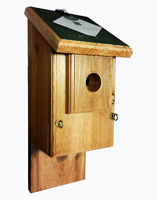 Greatwoods Cedar Cottage BlueBird Birdhouse #GW985