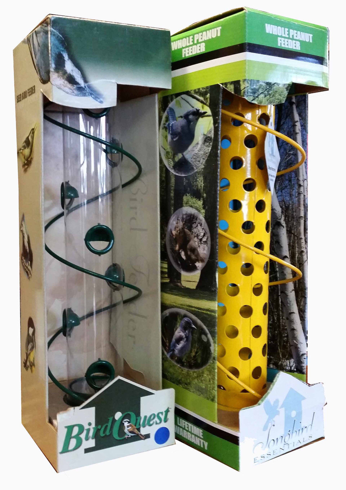 Spiral Bird Feeders (Set of 2)  VERY COOL, VERY EASY!