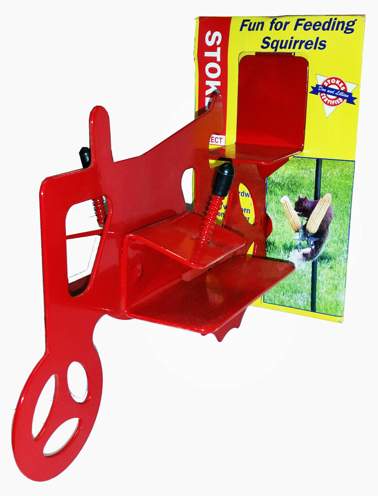 STOKES SELECT - Metal Squirrel Feeder Tractor