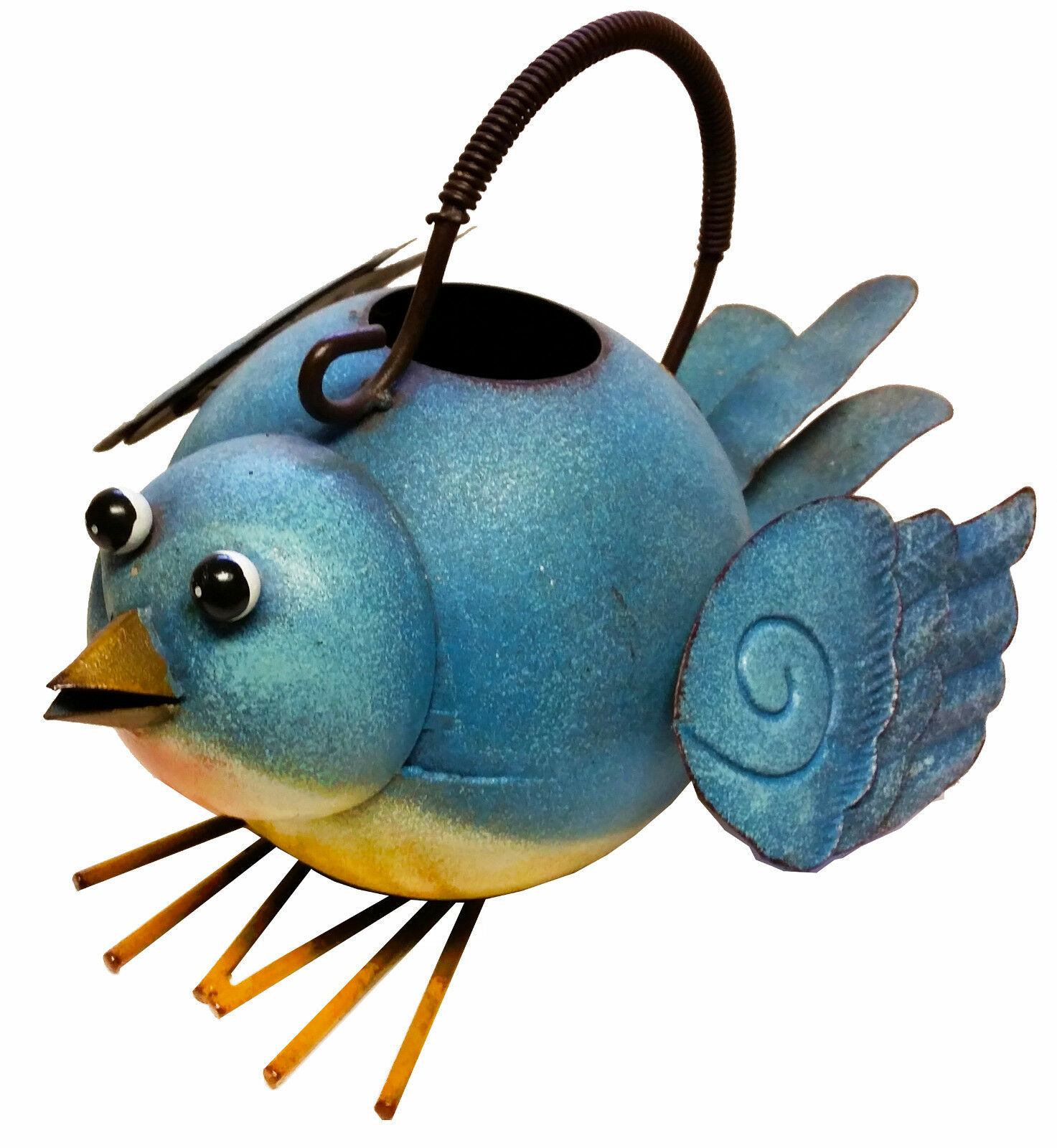Decorative Bluebird Watering Can
