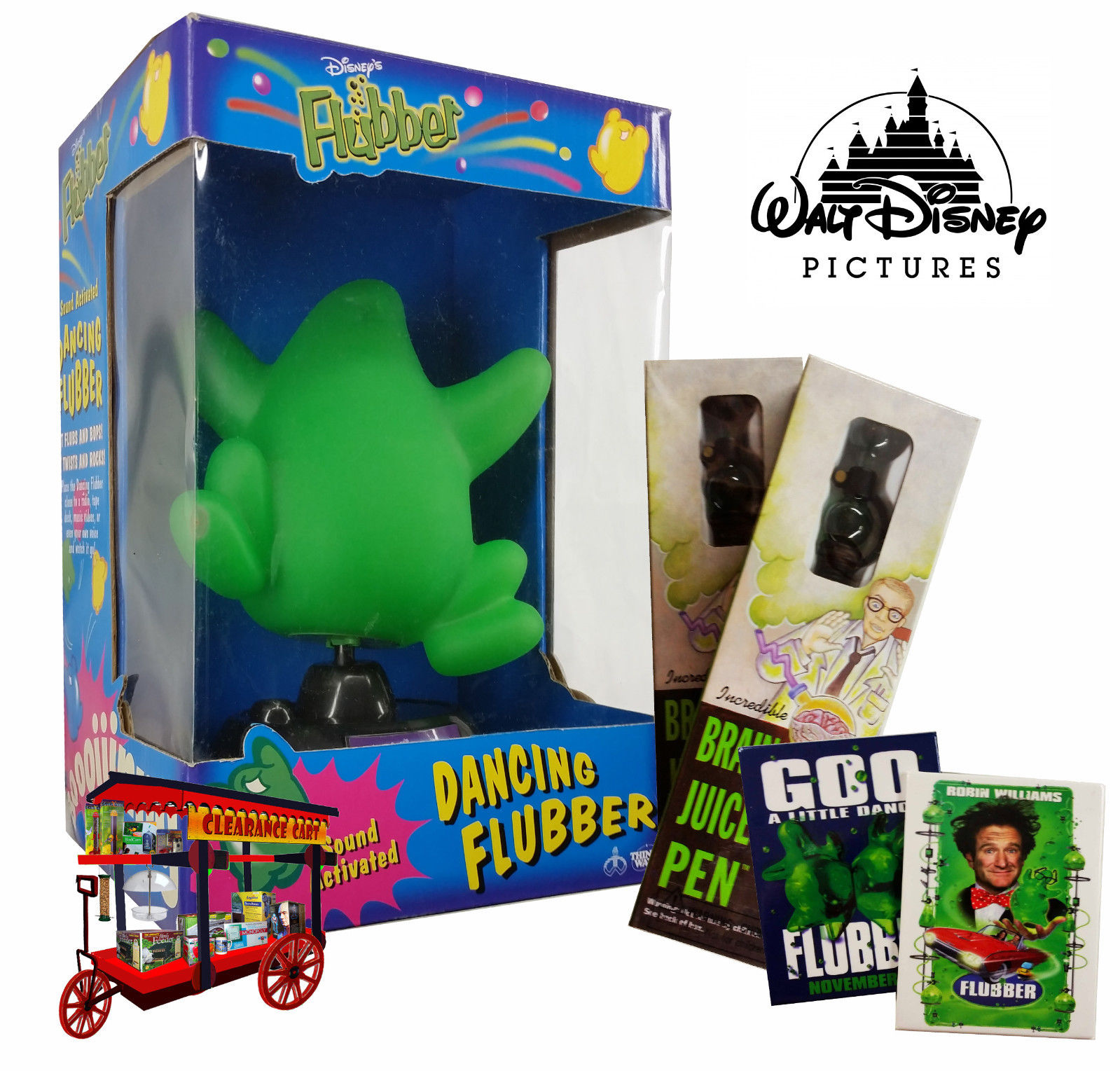 DISNEY'S FLUBBER 'DANCING FLUBBER' COLLECTION