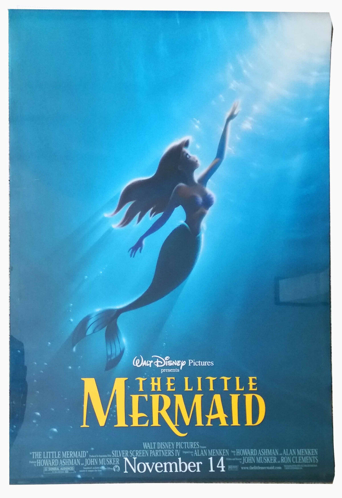Disney's The Little Mermaid Original Teaser Poster