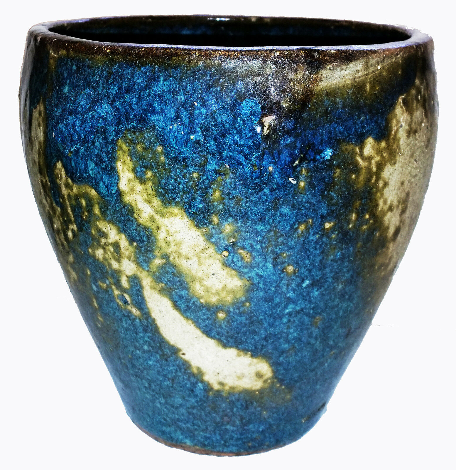 Rustic Chinese -Textured Artisan Pottery - 9