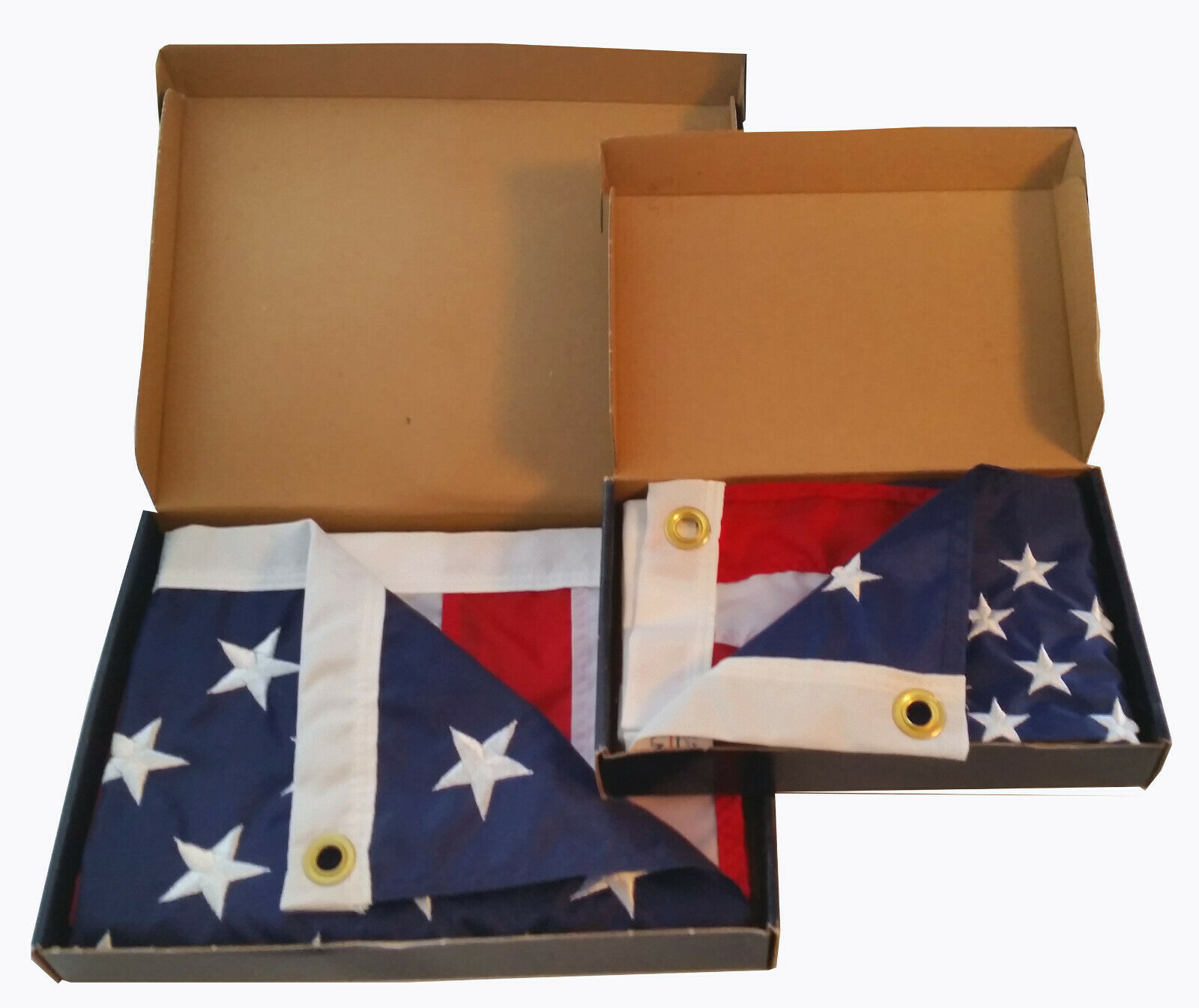 ANNIN - AMERICAN FLAGS (SET OF 2)
