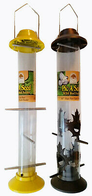 Heritage Farms 'Pic-A-Seed' Birdfeeders (Set of 2)