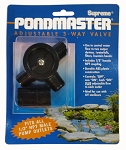 Pondmaster - Adjustable 3-Way Valve (1/2