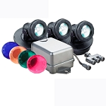 PONDMASTER - Submersible HALOGEN 3- Pond Light Kit
