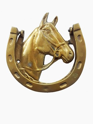 Brass Horse Shoe Door Knocker