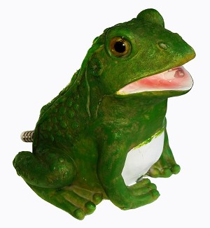 PONDMASTER - Decorative Spitting Frog Statue