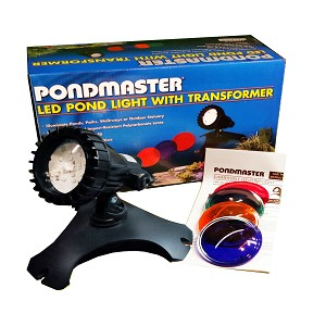 PONDMASTER - Submersible Single LED Pond Light Kit