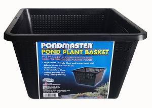 "PONDMASTER - 9""x9"" Pond Planter Basket"